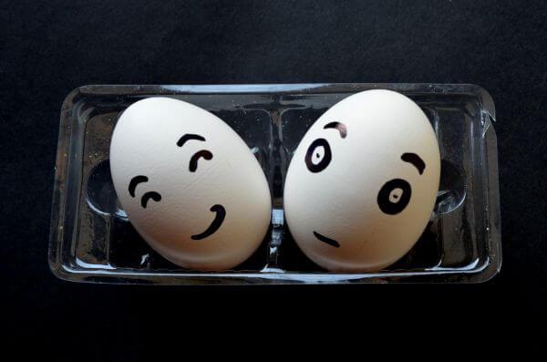 Sad Happy Egg Smiley photo