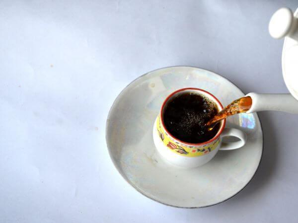Tea Pour Cup Saucer photo