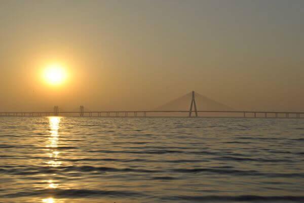 Bridge Mumbai Sunset photo