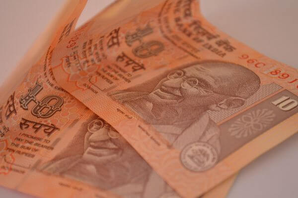Ten Rupee Notes photo