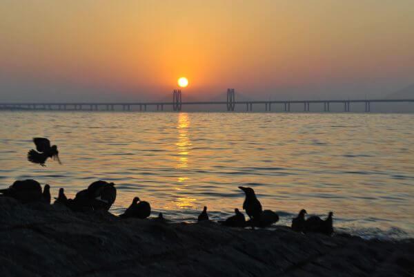Mumbai Sunset India photo