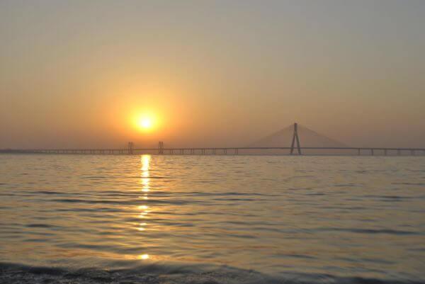 Sunset Mumbai photo