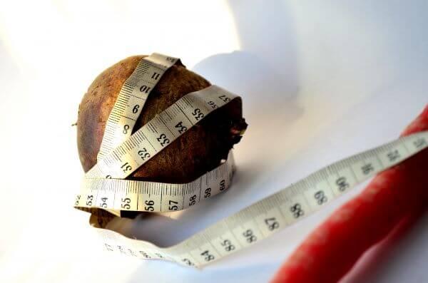 Beetroot Measure Tape photo
