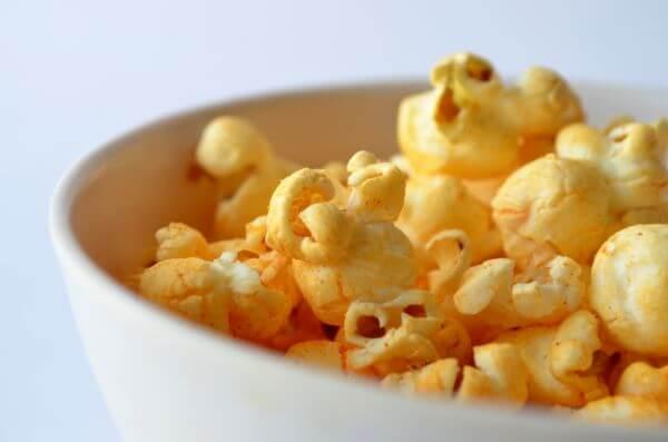Bowl Of Popcorn photo