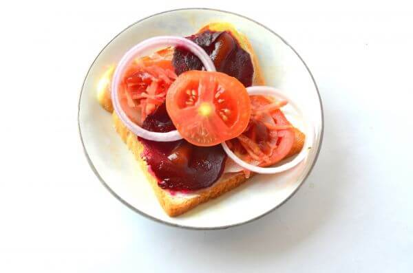 Bread Sandwich Tomatoes photo