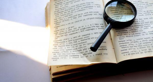 Dictionary Language photo