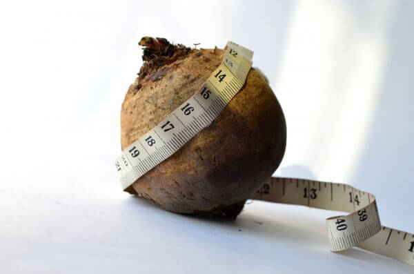 Fruit Health Diet Measure Tape photo