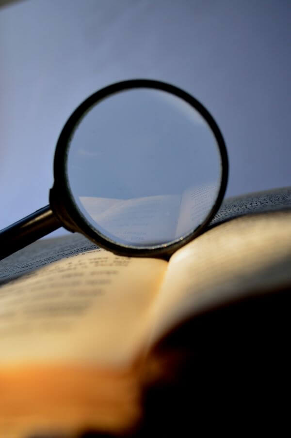 Magnifier Book photo