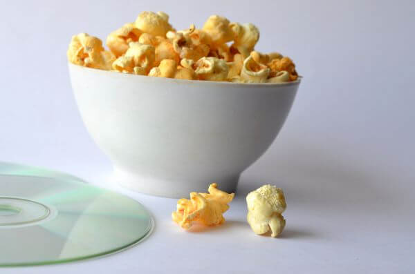 Popcorn Bowl Disc Movie photo