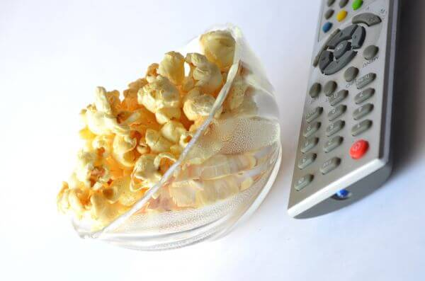 Popcorn Tv Remote Couch Potato photo