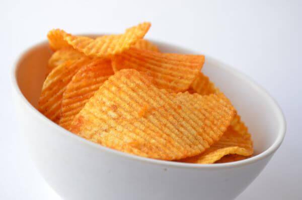 Potato Chips Bowl photo