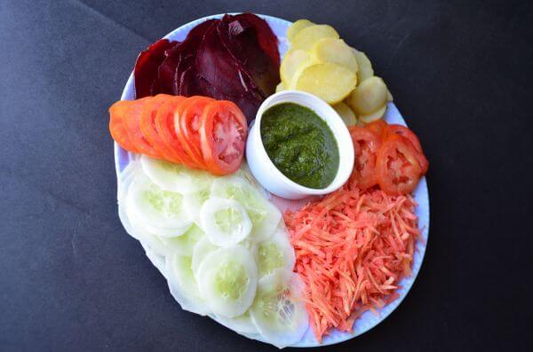 Salad Plate Chutney 5 photo