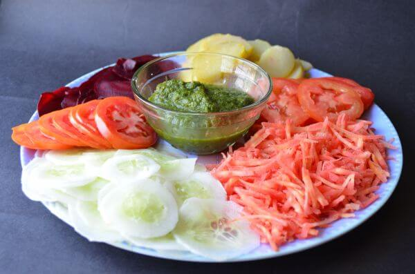 Salad Plate Chutney 6 photo