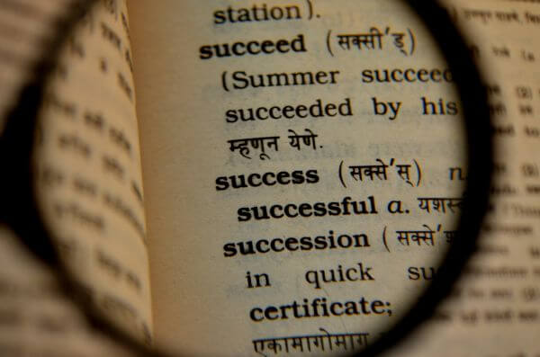 Success Dictionary photo