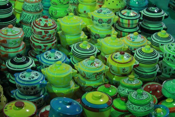 Array Of Earthenware Colorful photo
