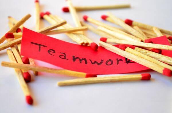 Teamwork Matches photo