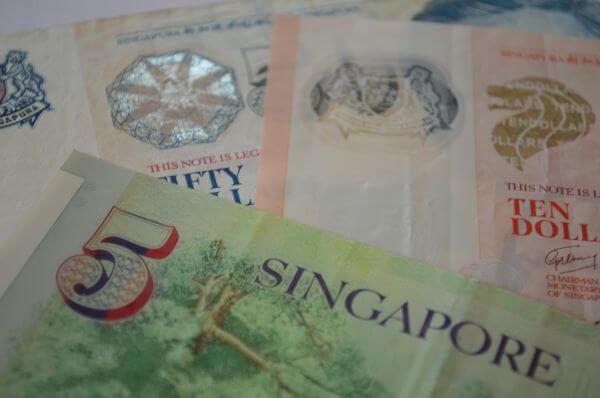 Singapore Dollars photo