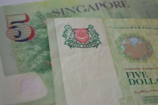 Singapore Five Dollars photo