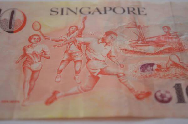 Singapore Note Back photo