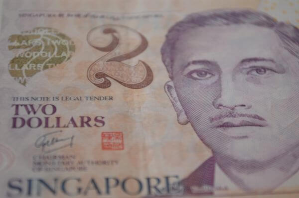 Singapore Two Dollars photo