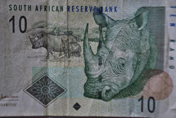 South Africa Note photo