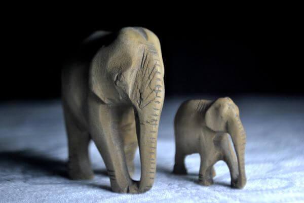 Stone Elephants photo