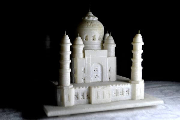 Taj Mahal Model Marble photo