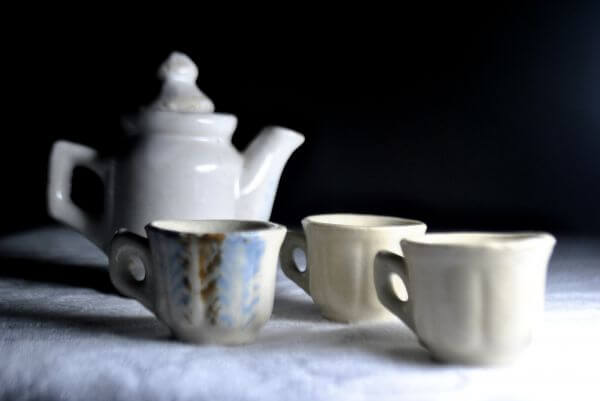 Tea Cup Kettle 2 photo