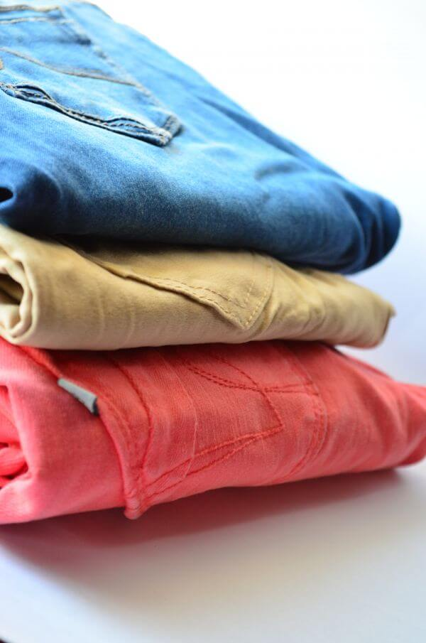 Clothes Stack Jeans photo