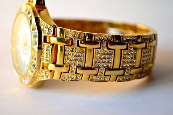 Gold Expensive Watch photo
