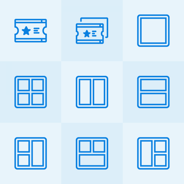 Lynny Icons - Mini Set 45 vector