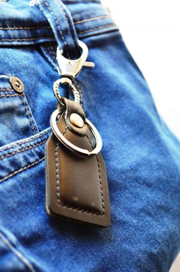 Jeans Key Holder photo