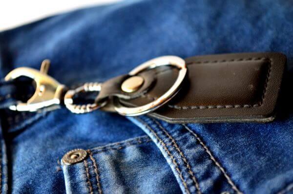 Jeans Keychain photo