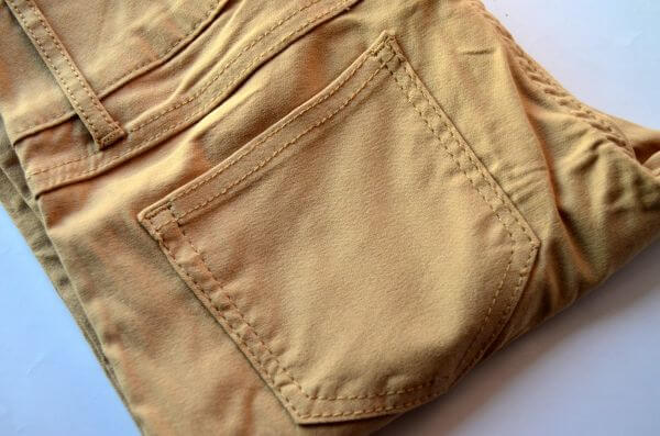 Pants Jeans Color Cream photo
