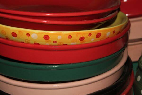 Colorful Trays And Pots photo