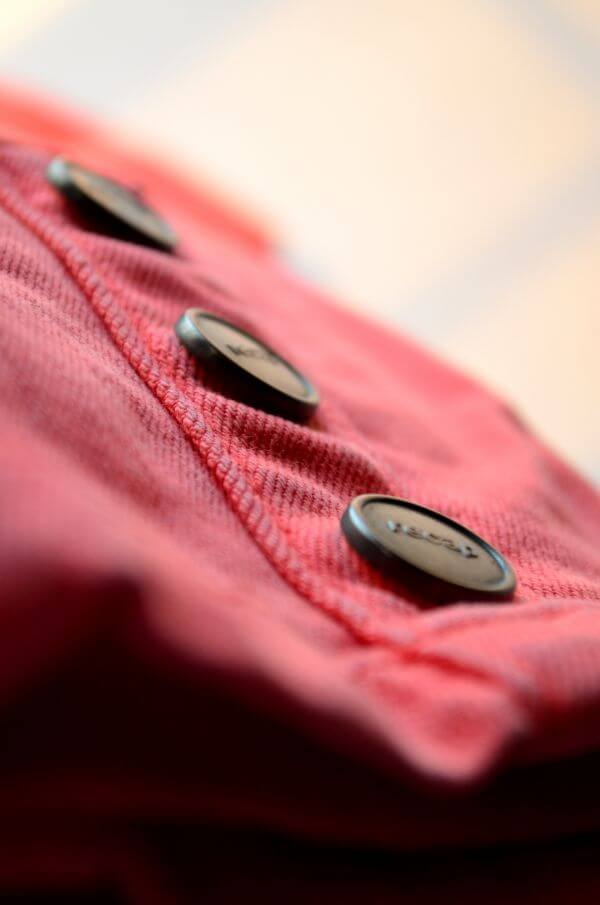 Pink Pants Buttons photo