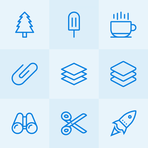 Lynny Icons - Mini Set 50 vector