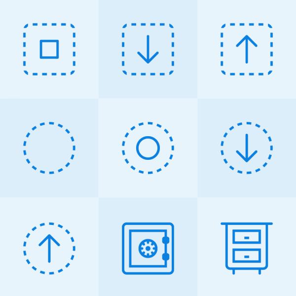 Lynny Icons - Mini Set 43 vector