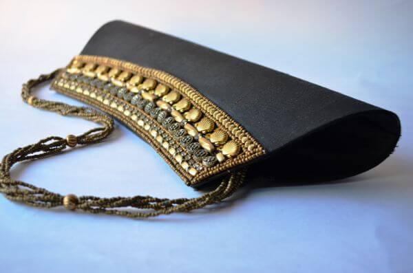 Black Gold Purse photo