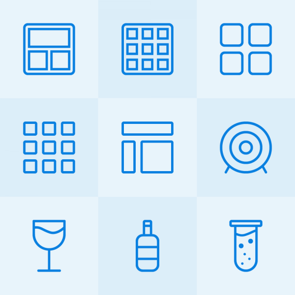 Lynny Icons - Mini Set 46 vector