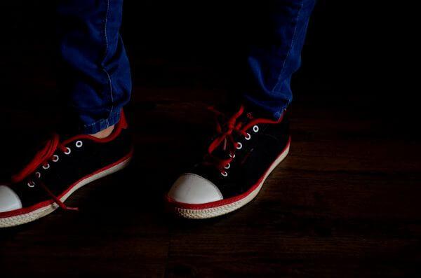 Canvas Shoes Jeans 2 photo
