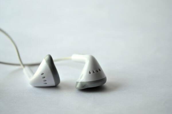Ear Phones White photo