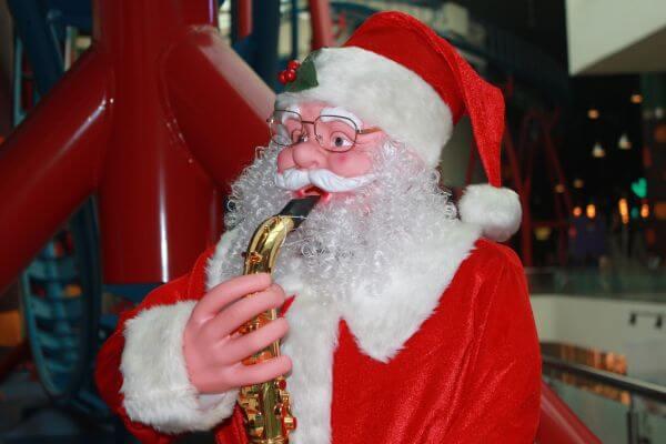 Cute Santa Claus photo