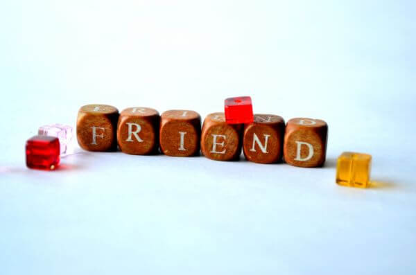 Friend Word photo