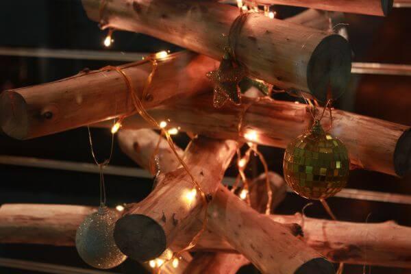 Decoration Of Christmas Closeup