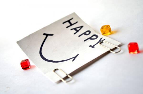 Happy Post It Note photo
