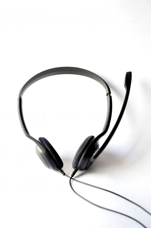 Headphones Black photo