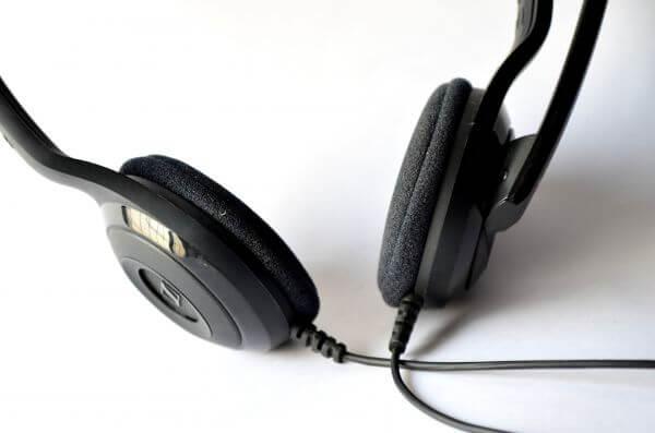 Headphones Closeup photo