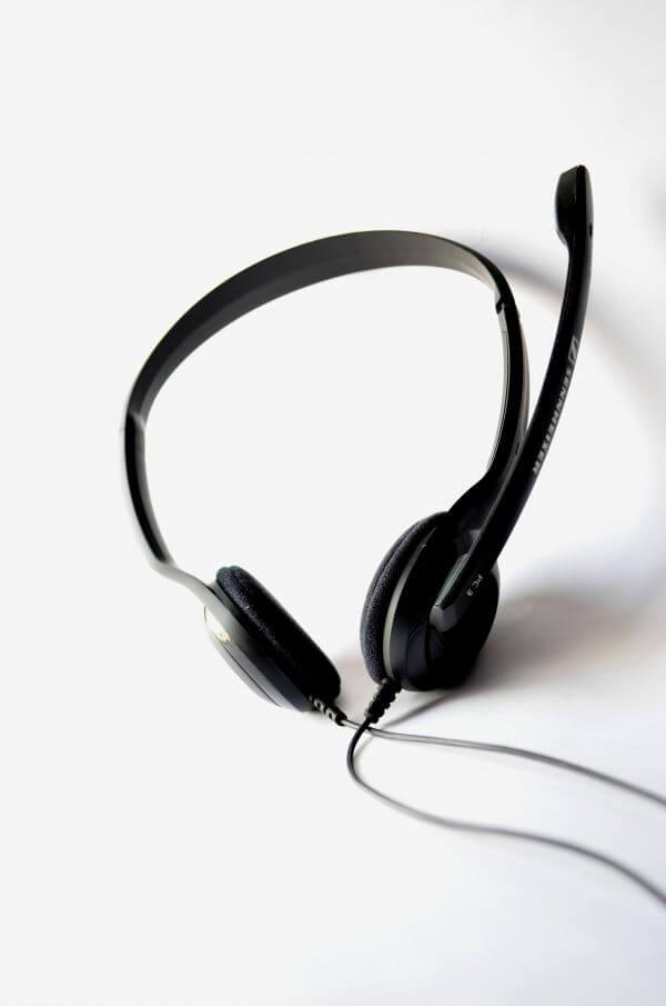 Headphones Mic photo