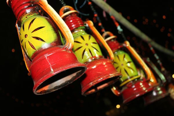 Earth Colorful Lanterns photo